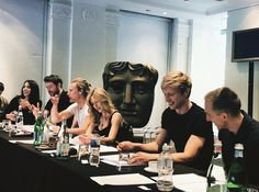 """""""So, it looks like Kat has been working on a new project in London. It's a TV show called ''The Two Wolves'' in which also, she will work with Will and it has musical moments. Katherine Mcnamara, Kat Mcnamara, Most Beautiful Pictures, Cool Pictures, Two Wolves, Luke Pasqualino, Jace Wayland, Christopher Eccleston, Shadow Hunters"""
