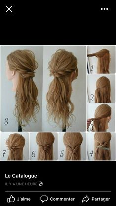 Twisted Up Side Bun - Side Updos, That Are in Trend: 40 Best Bun Hairstyles for 2019 - The Trending Hairstyle Easy Updos For Medium Hair, Medium Hair Styles, Curly Hair Styles, Natural Hair Updo, Natural Hair Styles, Simple Bridesmaid Hair, Prom Hair Updo, Hair Health, Hair Hacks