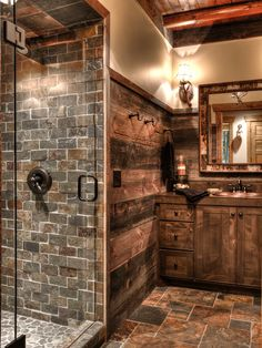 Θέλει τρόπο και όχι κόπο να μεταμορφώσετε το μπάνιο σας σε ρουστίκ μπιμπελό!