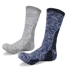 YUEDGE 2 Pairs Men's Cotton Cushion Crew Socks Seamless Breathable Comfortable Outdoor Sports Athletic Workout Hiking Socks Review Hiking Socks, Athlete Workout, Buy Shop, Cool Things To Buy, Stuff To Buy, Crew Socks, Cushions, Pairs, Athletic
