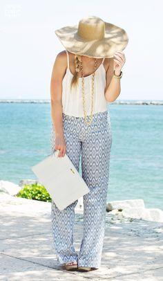 GiGi New York   Living In Color Print Fashion Blog   White Uber Clutch