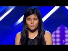 Judges Ask About Her Pants Until This Shy Girl Start Singing (7 min). Great voice and she's only 14