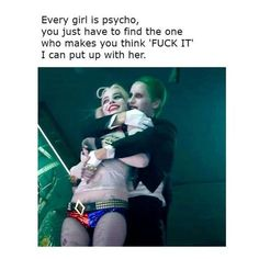37 Ideas for tattoo couple geek harley quinn Bitch Quotes, Joker Quotes, Badass Quotes, True Quotes, Funny Quotes, Harley And Joker Love, Harley Quinn Comic, Harly Quinn Quotes, Funny Couples