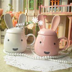 $5.51 [The Princess Fan] Disneys new super kawaii bunny ears Tatu cup | cup ~-ZZKKO