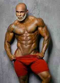Black Men And Muscles 89