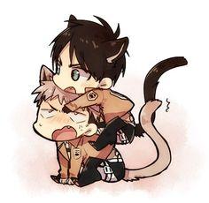 Neko-Eren et Neko-Jean