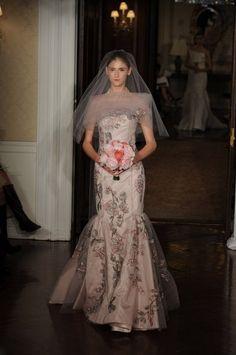 Pink Wedding Dress Veil