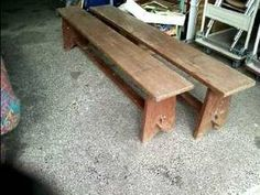 Contemporary Wood Metal Bench By Stuffstudios On Etsy Design And