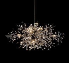 Metropolitan - Met Foyer chandelier | lighting . Beleuchtung . luminaires | Design: Lobmeyr |