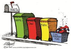 Political Cartoons by Henry Payne (stupid).