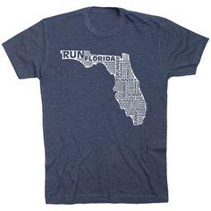 7a774cd6 Running Short Sleeve T-Shirt - Florida State Runner | Navy, Youth, M |  Running Apparel