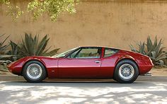 1970 Monteverdi Hai 450 SS at 1215 S. GRAND AVE., PASADENA, CA - Saw this car being loaded up while on my bike ride.