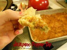 Fantastical Sharing of Recipes: Jalapeno Popper Dip