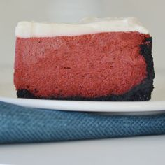 New York-Style Red Velvet Cheesecake Recipe from Land O'Lakes