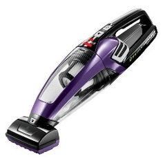 Clean wherever your pet goes with the BISSELL Pet Hair Eraser Lithium-On Hand Vacuum. This lightweight and cordless handheld device allows you to clean up pet hair and dirt that collects on you. Best Handheld Vacuum, Best Vacuum, Bissell Vacuum, Vacuum Reviews, Hand Vacuum, Carpet Trends, Cordless Vacuum, Carpet Cleaners, Vacuum Cleaners