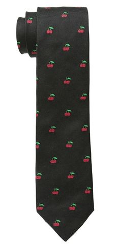 Treat yourself.  Feast eyes on the delicious looks of this fascinatingly fresh #PaulSmith #Cherry #Tie.  #mens #ties #accessory #accessories