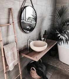 gorgeous 36 Fabulous Natural Bathroom Design Ideas That You Need To Try