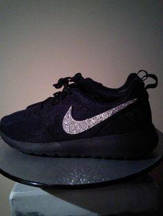 Bling Nike Custom Nike Custom Sneakers Swarovski by TyyonCreations