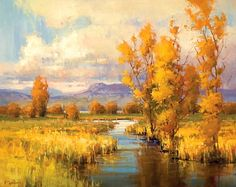 Kim Casebeer - Amber Reflections- Oil - Painting entry - April 2012 | BoldBrush Painting Competition