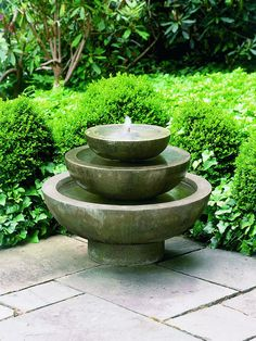 FT 34 Campania International Garden Fountains: PLATIA FOUNTAIN. Garden  Fountains
