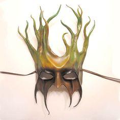 Leather anthropomorphic mask