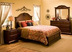 Raymour  Willow Point 4Piece Queen Bedroom Set Room Project Custom Raymour And Flanigan Bedroom Sets Review