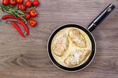 Omlós csirkemell mustáros-sajtos szósszal - Krémes, tunkolnivaló szafttal