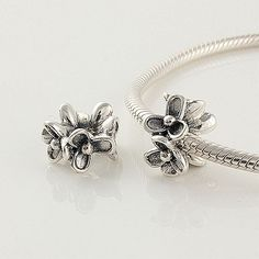 925 Sterling Silver Flowers Pandora Charms beads Jewelry on sale,for Cheap,wholesale Pandora Beads, Pandora Bracelet Charms, Pandora Jewelry, Charm Bracelets, Tibet, Amethyst Jewelry, Sterling Silver Flowers, Cheap Jewelry, Jewelry Accessories