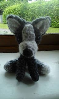 Jay Crochet: Amigurumi- Pies husky - wzór na szydełko