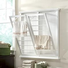 clothes drying racks, laundry room ideas