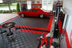 Garage Floor Tiles & Garage Flooring Ideas by RaceDeck - floor tiles - salt lake city - RaceDeck