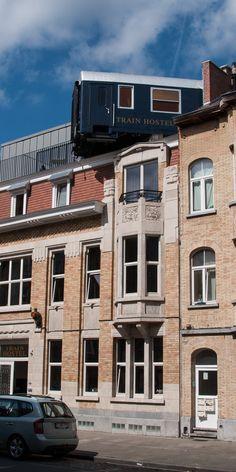 Train Hostel Brüssel: Eine Nacht im Eisenbahn-Hotel (Blogpost)