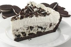 Cookies and Cream Pie Frozen Desserts, Fun Desserts, Delicious Desserts, Dessert Recipes, Oreo Cake, Oreo Cheesecake, Cookies And Cream Pie Recipe, Chocolate Sweets, Let Them Eat Cake