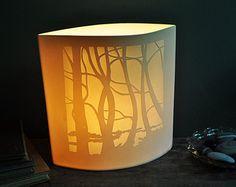 Pencalenick Woods Ellipse Lamp