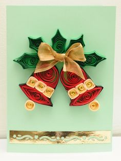 Quilling Christmas | http://cutegreetingcards.blogspot.com