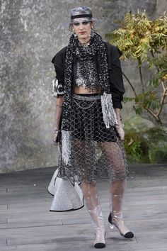 Chanel | Ready-to-Wear - Spring 2018 | Look 26