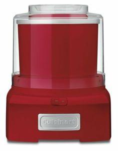 Amazon.com: Cuisinart ICE-21R Frozen Yogurt-Ice Cream & Sorbet Maker, Red: Kitchen & Dining