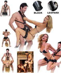 New Women Full Body Bondage Restraint Harness Lover Adult Swing BDSM Sex Toy