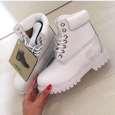 White timberland boots. If you buy me a pair I will love you forever <3 http://bootjunkies.net/timberland-pro-26078-titan-review/
