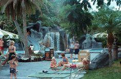 Polynesian Village Resort pool, 1970s, 1980s, Walt Disney World.