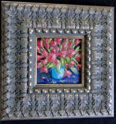 "Saatchi Art Artist Marie T Harris; Painting, ""Pink Tulips Still Life"" #art"