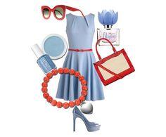 Come abbinare il dusk blue: colore pantone p/e 2015! #outfit #look #duskblue #colorepantonestate2015 #consiglidistile #lucabarragioielli #fashion #jewels