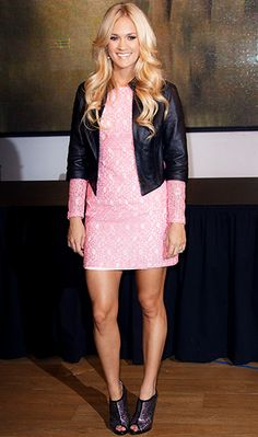 Carrie Underwood visits 10 Downing Street in London