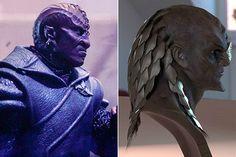 This is not a fucking Klingon, JJ! Why are you perverting Star Trek? Crazy Eyebrows, Deep Space 9, Star Trek Series, Star Trek Into Darkness, Fantasy Costumes, Stargate, Sci Fi Art, Book Art, Lion Sculpture