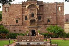 Fort Chanwa Luni Rajasthan India. Luni is 35 kms from Jodhpur Rajasthan India  Duration : 11 Nights / 12 Days  Destination Covered : Delhi-Agra-Bharatpur-Jaipur-Deogarh-Udaipur-Luni-Khimsar-Mandawa-Delhi