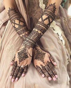 Henna Hand Designs, Mehndi Designs Finger, Wedding Henna Designs, Pretty Henna Designs, Latest Bridal Mehndi Designs, Modern Mehndi Designs, Mehndi Designs For Girls, Beautiful Mehndi Design, Arabic Mehndi Designs Brides