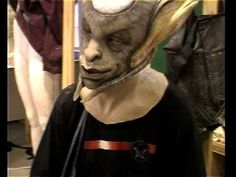 ▶ Amazing - for the few Farscape fans out here like me this is a great candid behind the scenes look at one of their more interesting villains in development.