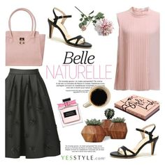 """""""YesStyle Polyvore Group """" Show us your YesStyle """""""" by helenevlacho ❤ liked on Polyvore featuring Sentubila, ANS, Garance Doré and Crate and Barrel"""