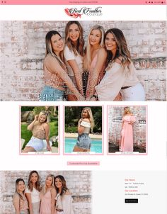 Red Feather Boutique - Website and Logo by #2FriendsDesigns. Contact 2FD for all your website needs. 541.654.4199 - Lisa@2FriendsDesigns.com Portfolio Logo, Red Feather, Shots, Lisa, Polaroid Film, Boutique, Website, Boutiques