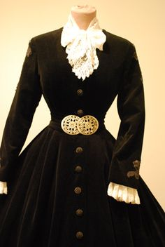 Sisi gown repro at Bad Ischl expo. Elisabeth of Austria (due to the movie also known now as Sissi, 1837-1898)